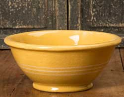 Yellowware Mixing/Serving Bowl - Medium
