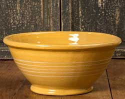 Yellowware Mixing/Serving Bowl - Large