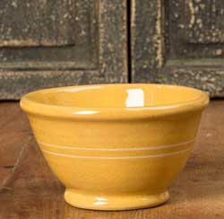 Yellowware Soup & Salad Bowl (Set of FOUR)