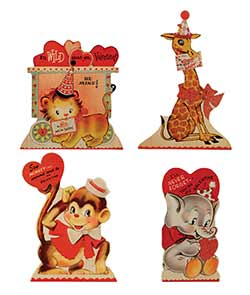 Wild About You Dummy Boards (Set of 4)