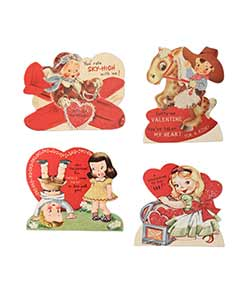 Children Valentine Dummy Boards (Set of 4)
