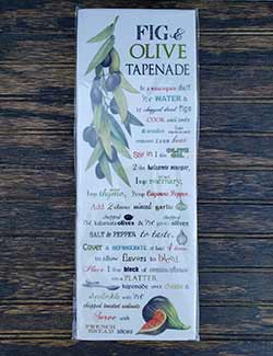 Olive Branch Tapenade Flour Sack Towel