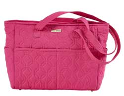 Raspberry Rebel Microfiber Gabby Handbag
