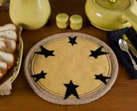 Victorian Heart Raven Moon Tablemat