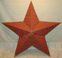 Amish Stars Amish Barn Star, 48 inch (Red)
