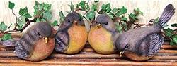 Robin Bird Figurine - Large