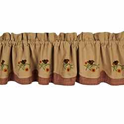 Robin Red Breast Fairfield Valance