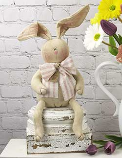 Dag Primitive Bunny Doll