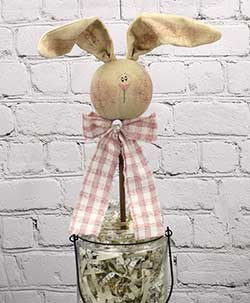 Primitive Spring Bunny Wand