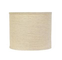 Tussah Flax Custom Lamp Shade (Choose Size)