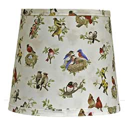 Beautiful Birds Custom Lamp Shade (Choose Size)