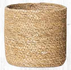 SGB-01 Natural Sedge Grass 5 inch Basket