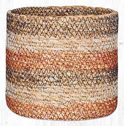 SGB-02 Honeycomb Sedge Grass 5.5 inch Basket