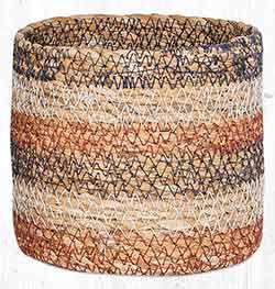 SGB-02 Honeycomb Sedge Grass 5 inch Basket