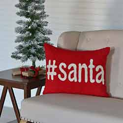 Santa Pillow (14x18)