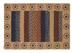 Seapoint Jute Rug with Stars - Rectangle