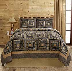 Smokey Cabin Quilt Set