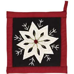 Christmas Snowflake Pot Holder