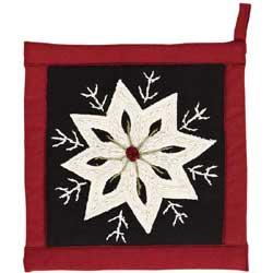 Christmas Snowflake Pot Holder