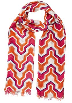 Somerset Scarf - Geometric