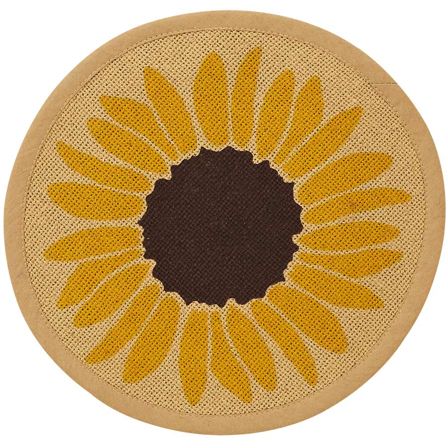 Sunflower Tablemat - 9 inch