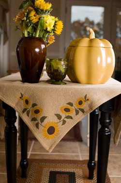 Sunflower Tabletopper (40 x 40 inch)