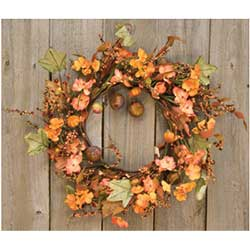 Harvest Garden Twig 14 inch Wreath