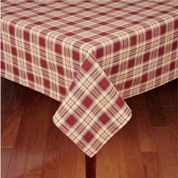 Rich Hill Plaid Tablecloth - 60 x 90 inch