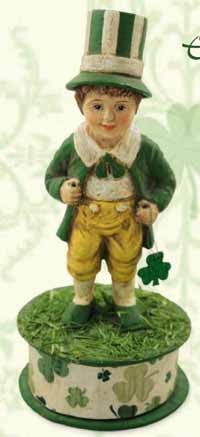 Luck O' the Irish Boy on Box