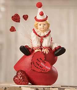 Yoo Hoo Valentine Clown