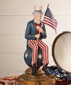 Uncle Sam on Pedestal