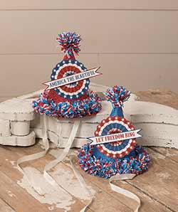 Americana Party Hats (Set of 2)