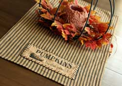 Pumpkins by the Pound Table Runner