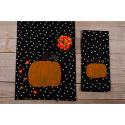 Starry Starry Pumpkin Table Runner