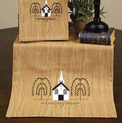 Amazing Grace Table Runner