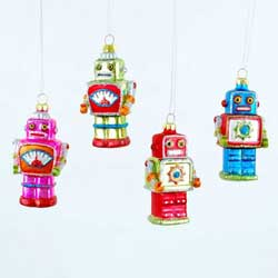 Robot Ornament - Mini