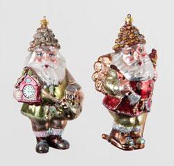 Woodland Santa Ornament