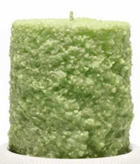 Tart Apple Cake Candle