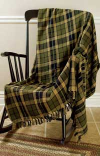 Tea Cabin Woven Throw