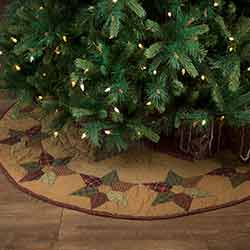 Tea Star 50 inch Tree Skirt