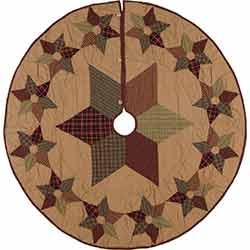 Tea Star 55 inch Tree Skirt