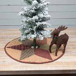 Tea Star Mini 21 inch Tree Skirt