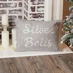 Tinsley Silver Bells Pillow (14x18)