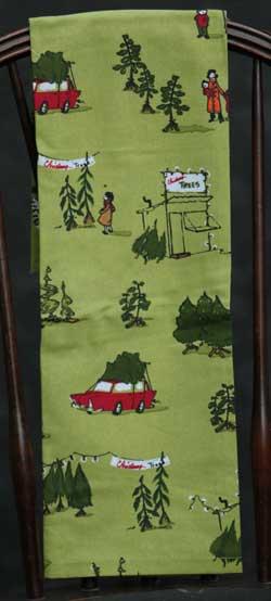 Tree Lot Printed Dishtowel