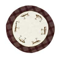 Truman Tablemat - Lure (13 inch)