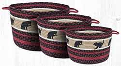 UBP-238 Cat and Kitten Small Utility Basket