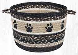 UBP-313 Paw Prints Large Utility Basket