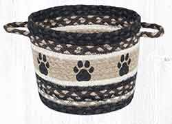 UBP-313 Paw Prints Medium Utility Basket