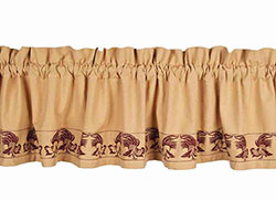 Farm Life Valance - Red