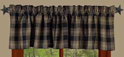 Raghu (On Hand) Millbrook Black Valance